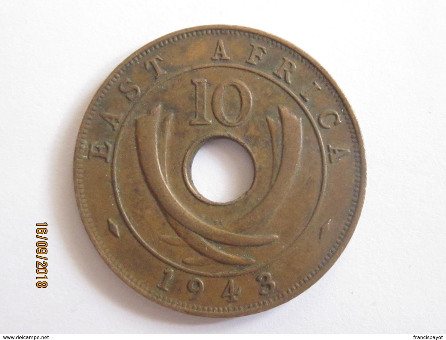 British East Africa: 10 Cents 1943 - Colonie Britannique