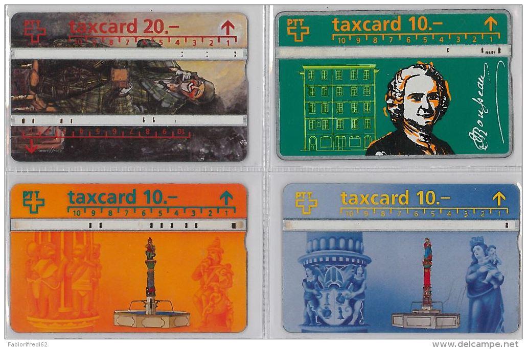 LOT 4 PHONE CARD- SVIZZERA (E26.11.1 - Svizzera