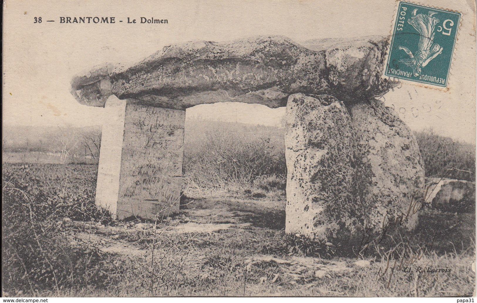 BRANTOME Le Dolmen - Dolmen & Menhirs