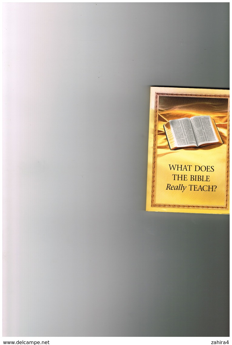 Jehovah's Witnesses - What Does The Bible Really Teach - Watch Tower Bible And Tract Society Of Pennsylvania - Christianity, Bibles