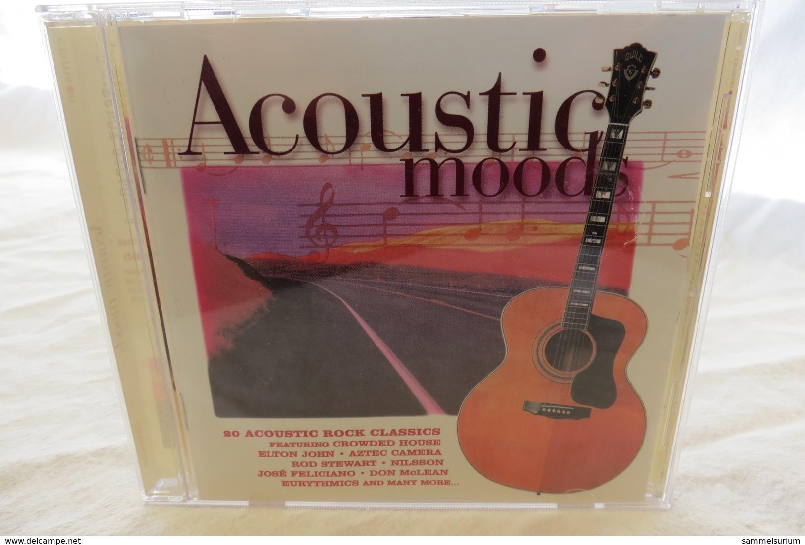 "CD ""Acoustic Moods"" 20 Acoustic Rock Classics - Rock"