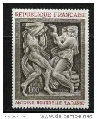 FRANCE  1968 Sculpture Painting Stamp 1640 MNH # 1725 - Art