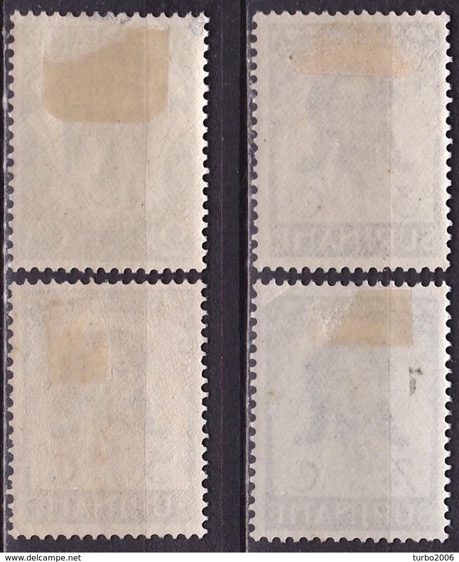 SURINAME 1936 Emancipatiezegels Complete Serie Ongestempeld NVPH 183 / 186 - Suriname ... - 1975