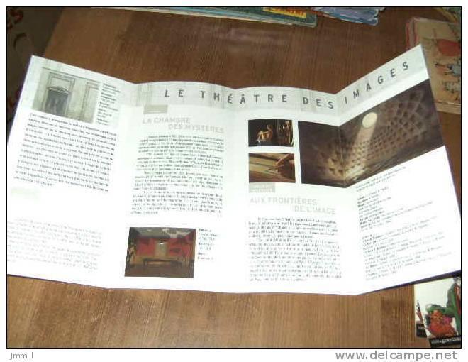 Schuiten : Programme Le Théatre Des Images 30ème Festival Bd Angoulème Janvier 2003 - Autres Auteurs