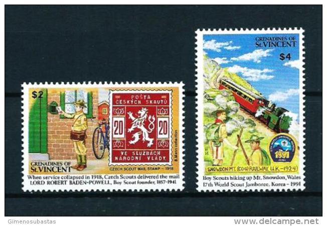 Granadinas (St. Vincent)  Nº Yvert  680/1  En Nuevo - St.Vincent Y Las Granadinas