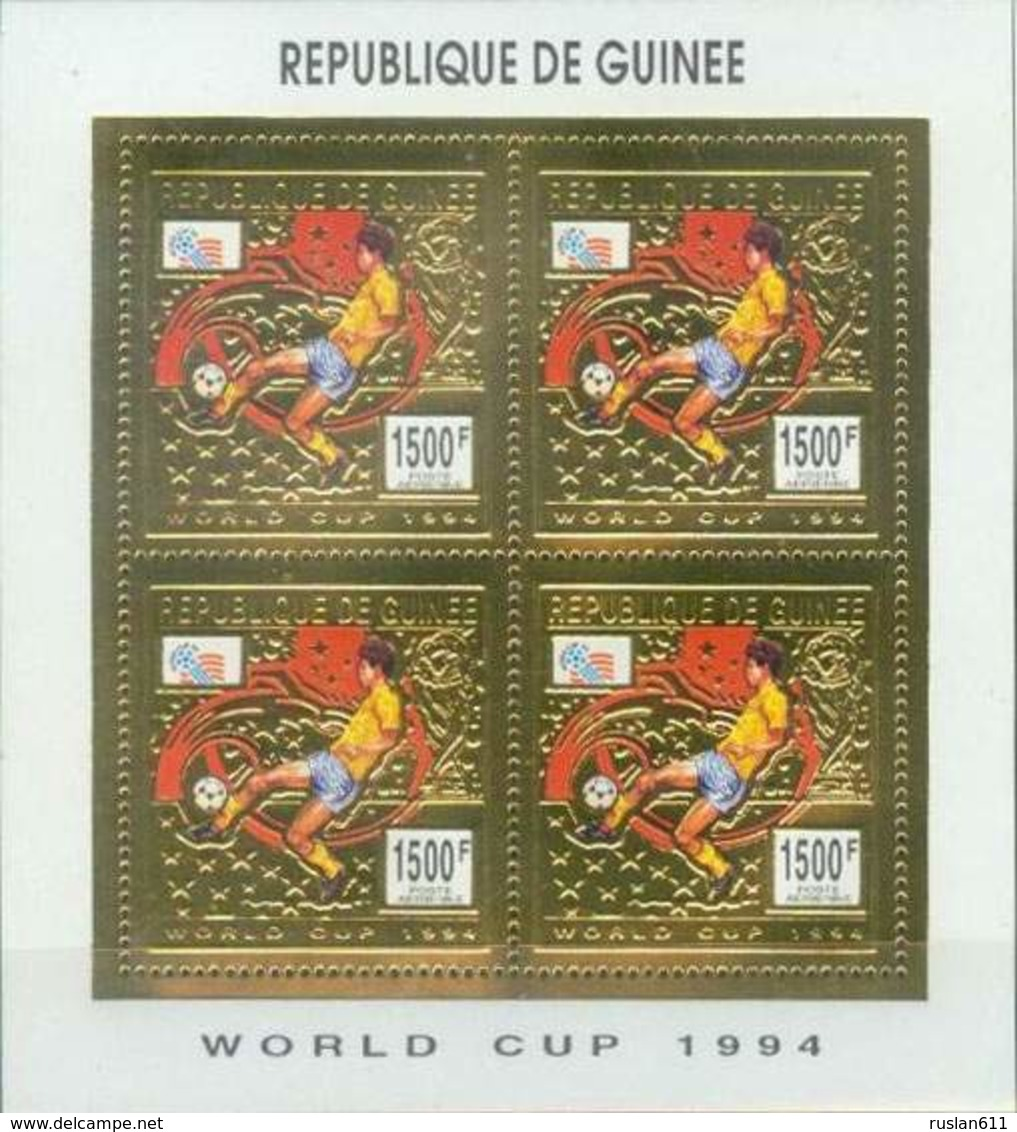 Soccer Football Guinea Guinee 1993 KB 1463 1994 World Cup USA MNH ** - World Cup