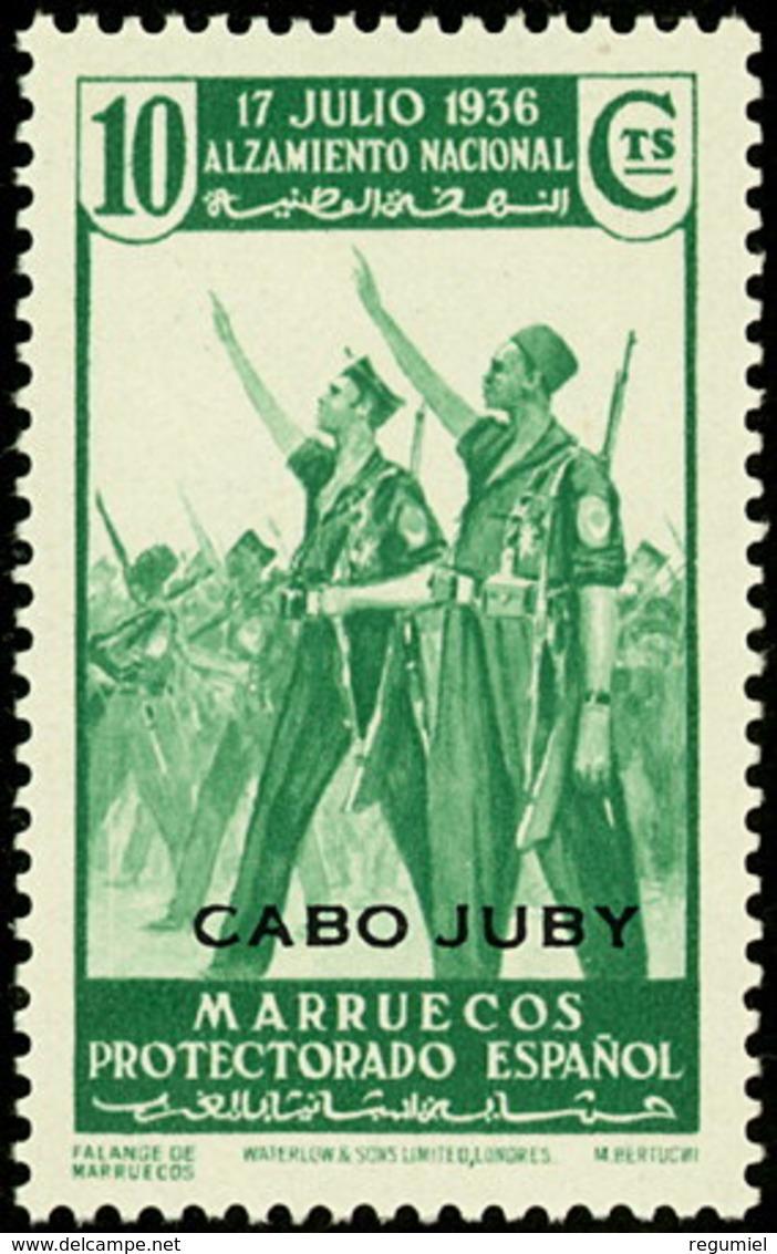 Cabo Juby 088 (*) Alzamiento. 1935. Sin Goma - Cabo Juby