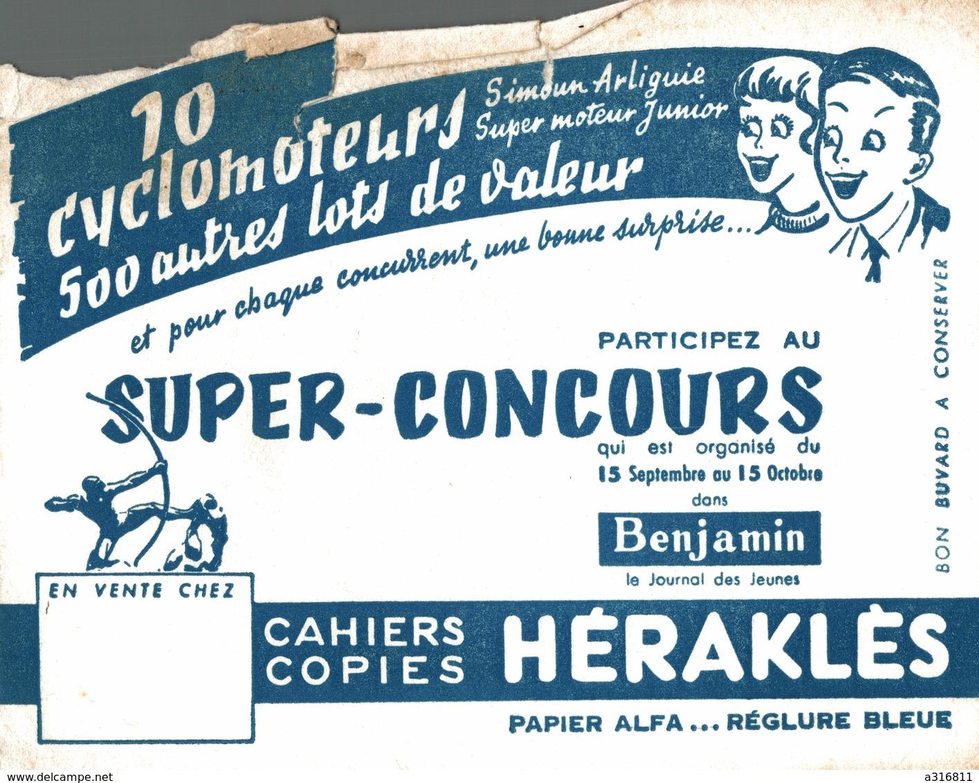 BUVARD  CAHIER COPIES HERAKLES - Papeterie