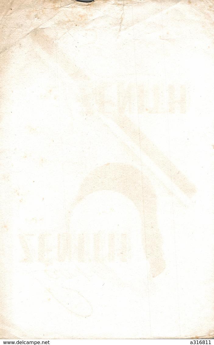 BUVARD  LAMPE ZENITH - Vloeipapier