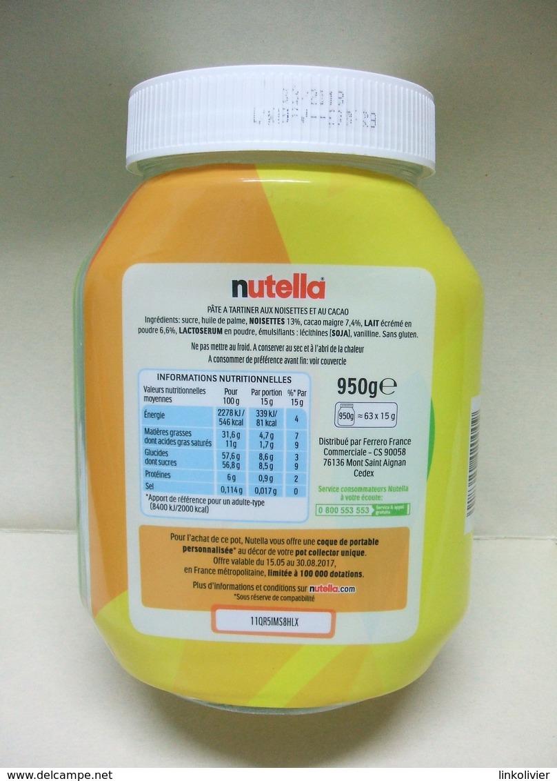 Pot Collector De NUTELLA Vide - Nutella