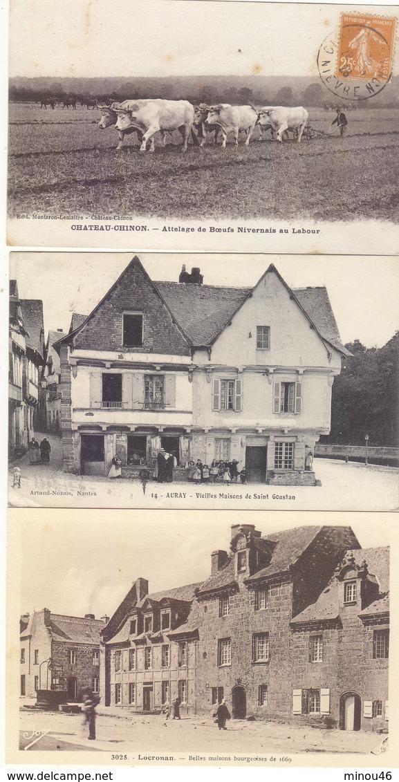 T.BON LOT DE 125 CPA DE FRANCE.DONT 64 ANIMEES.T.BON ETAT DES CARTES.A SAISIR. PORT : 5.00E - 100 - 499 Cartes