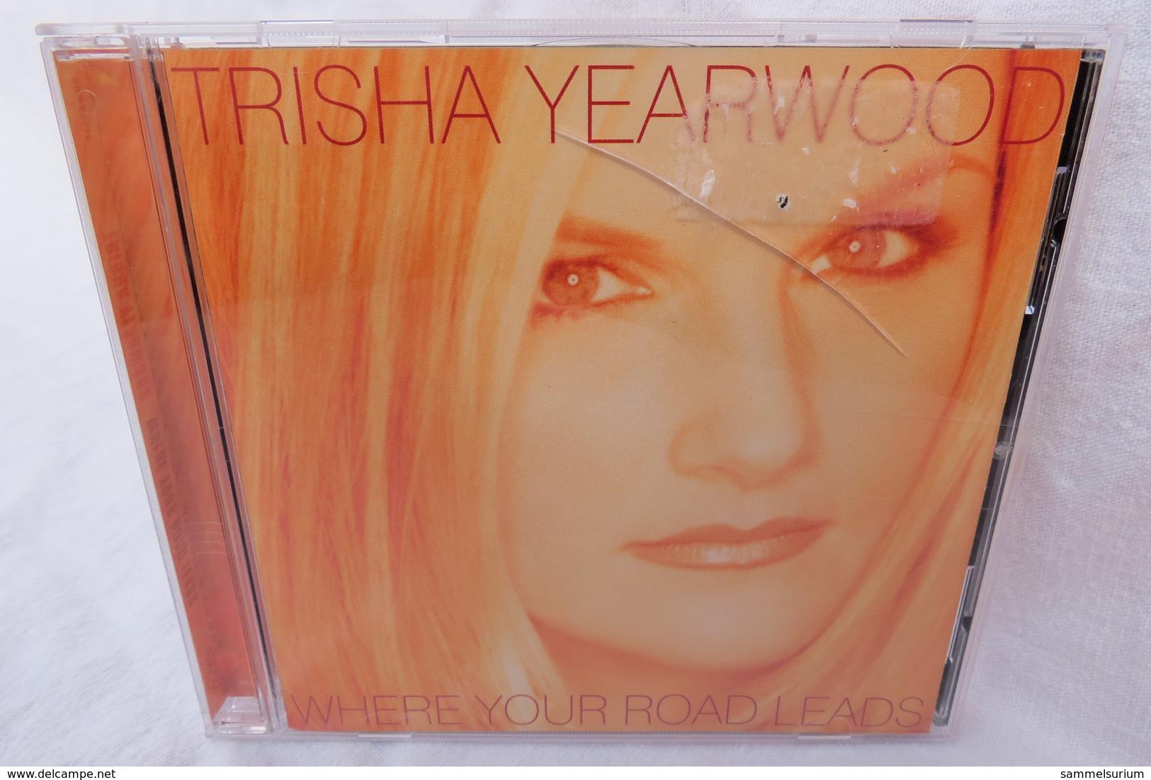 "CD ""Trisha Yearwood"" Where Your Road Leads - Rock"