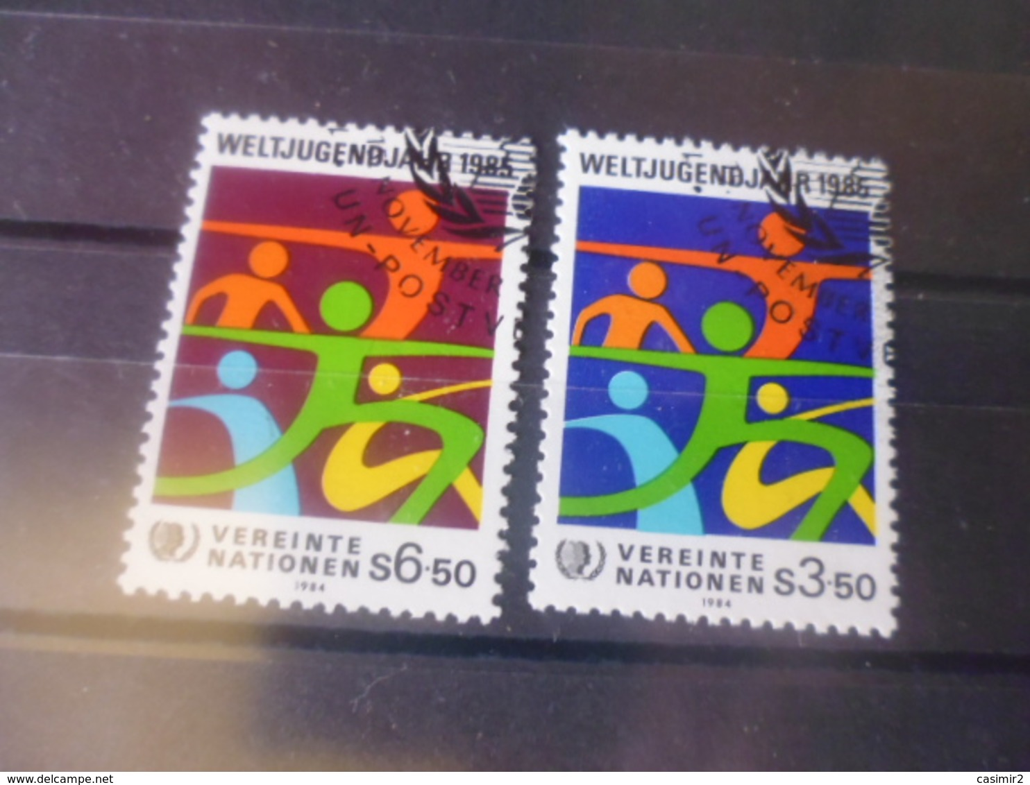 NATIONS UNIES VIENNE N° 47.48 - Centre International De Vienne
