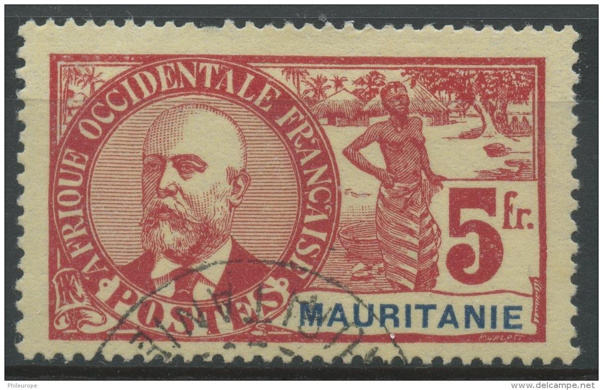 Mauritanie (1906) N 16 (o) - Mauritanie (1906-1944)