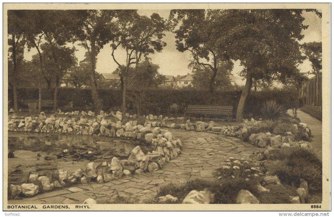 FLINTSHIRE - RHYL -  BOTANICAL GARDENS Clw119 - Flintshire