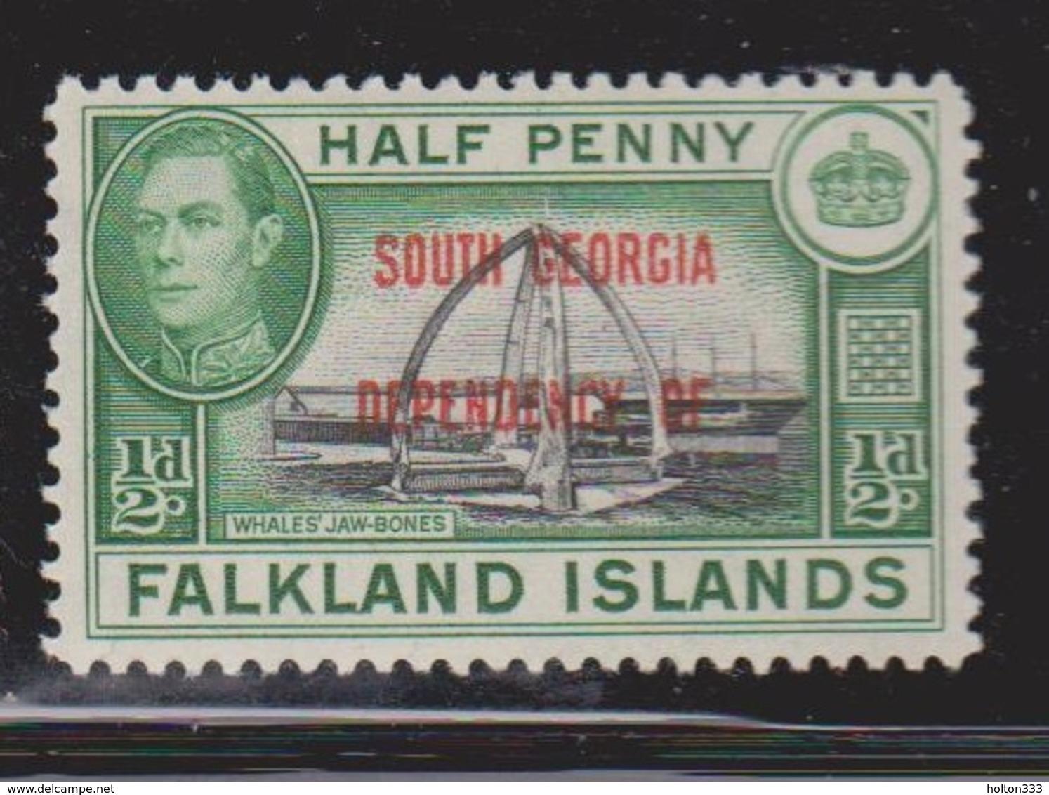 FALKLAND ISLANDS DEPENDENCIES Scott # 3L1 MH - KGVI - Falkland Islands
