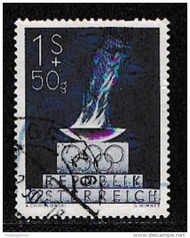 AUSTRIA, 1948, Cancelled Stamp(s) , Olympic Games, Mi 854,  Scan U15029, - 1945-.... 2nd Republic