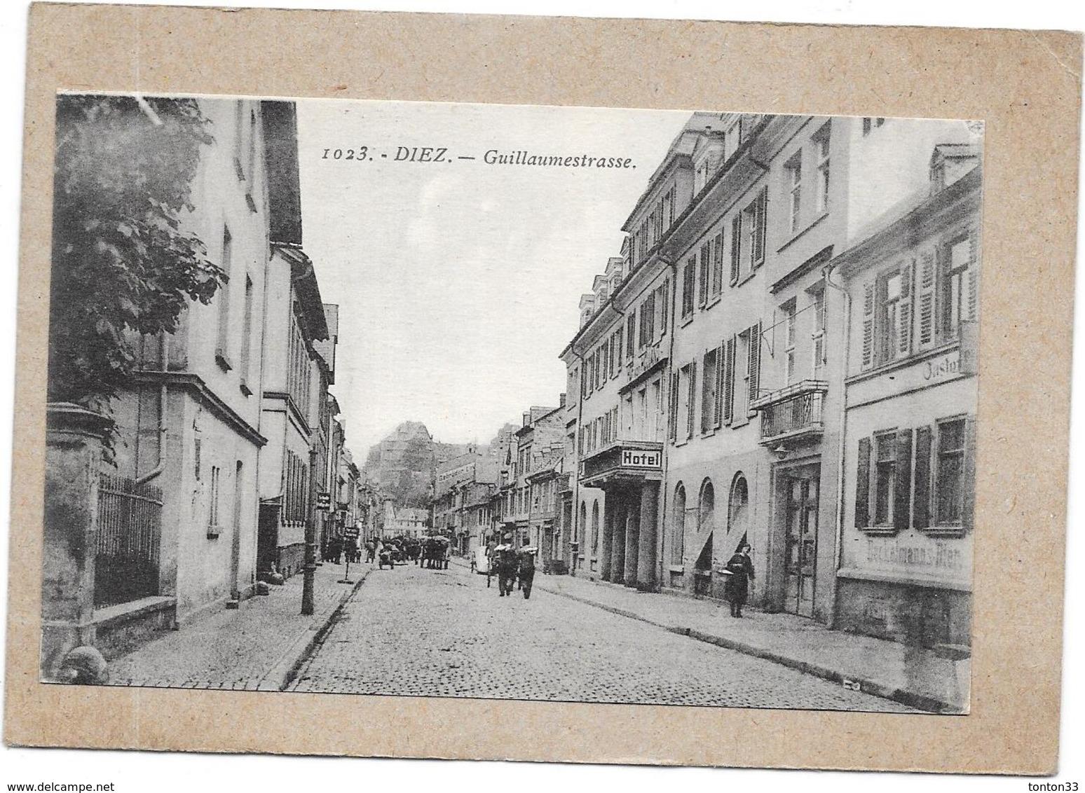 DIEZ - ALLEMAGNE - Guillaumestrasse - DELC2 - - Diez