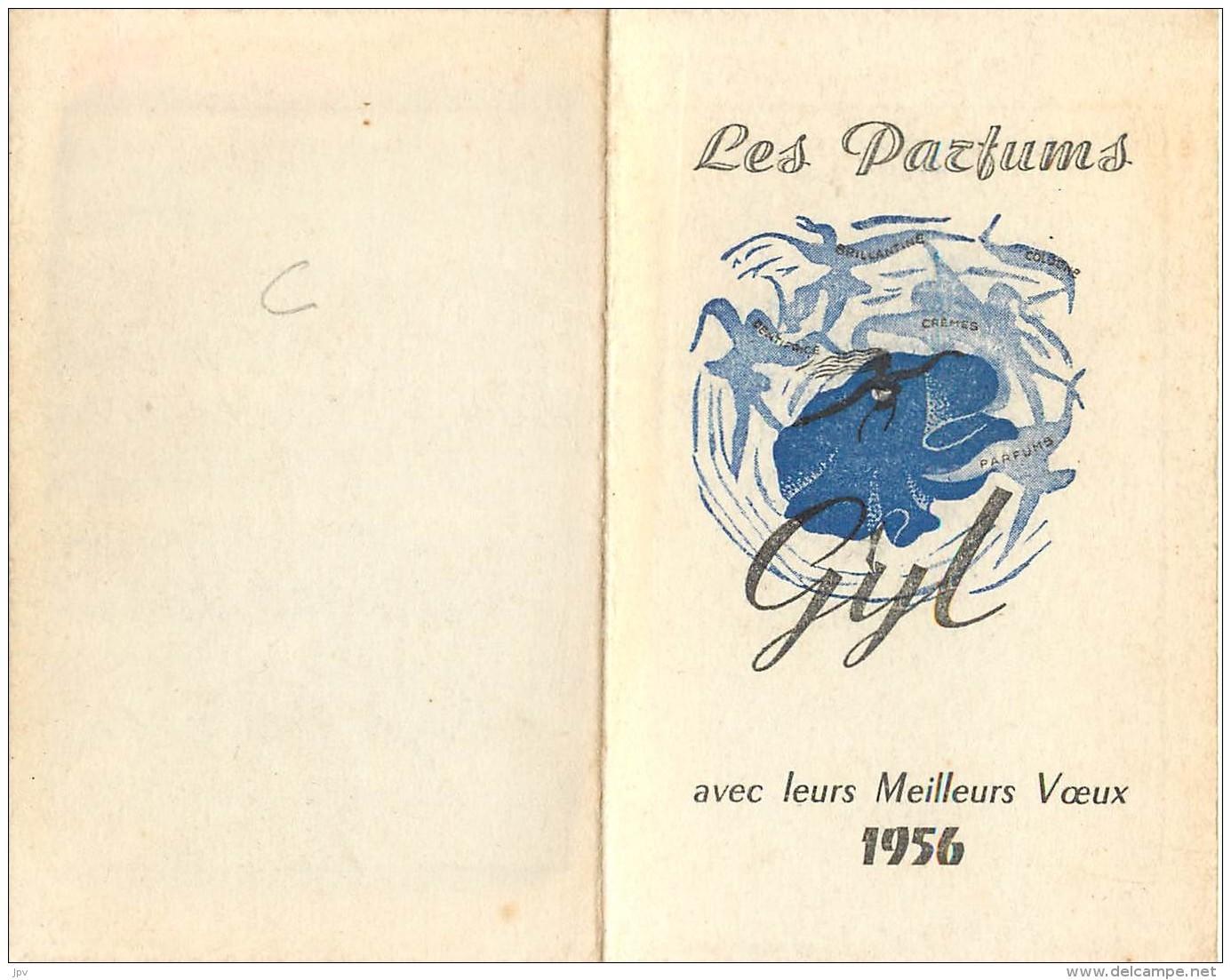 CARTE PARFUMEE : PARFUMS GYL - Perfume Cards