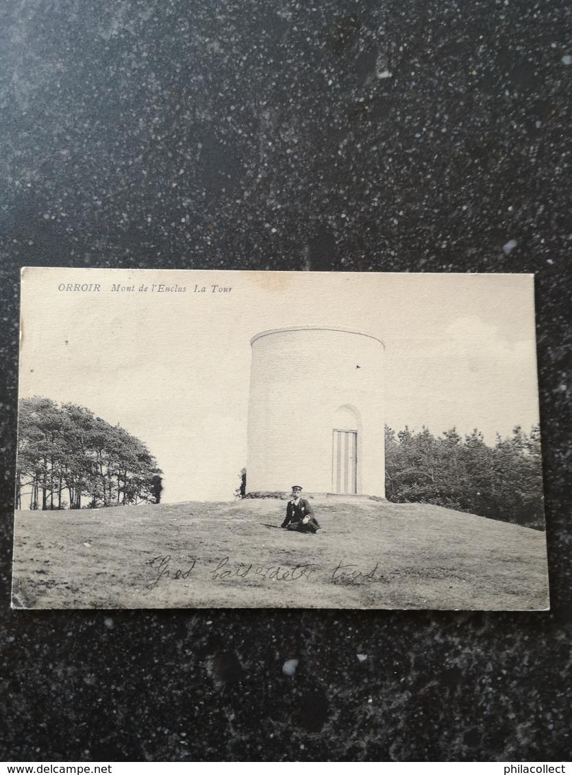 Orroir (Mont De L'Enclus) La Tour (animee) Used 1905 - België