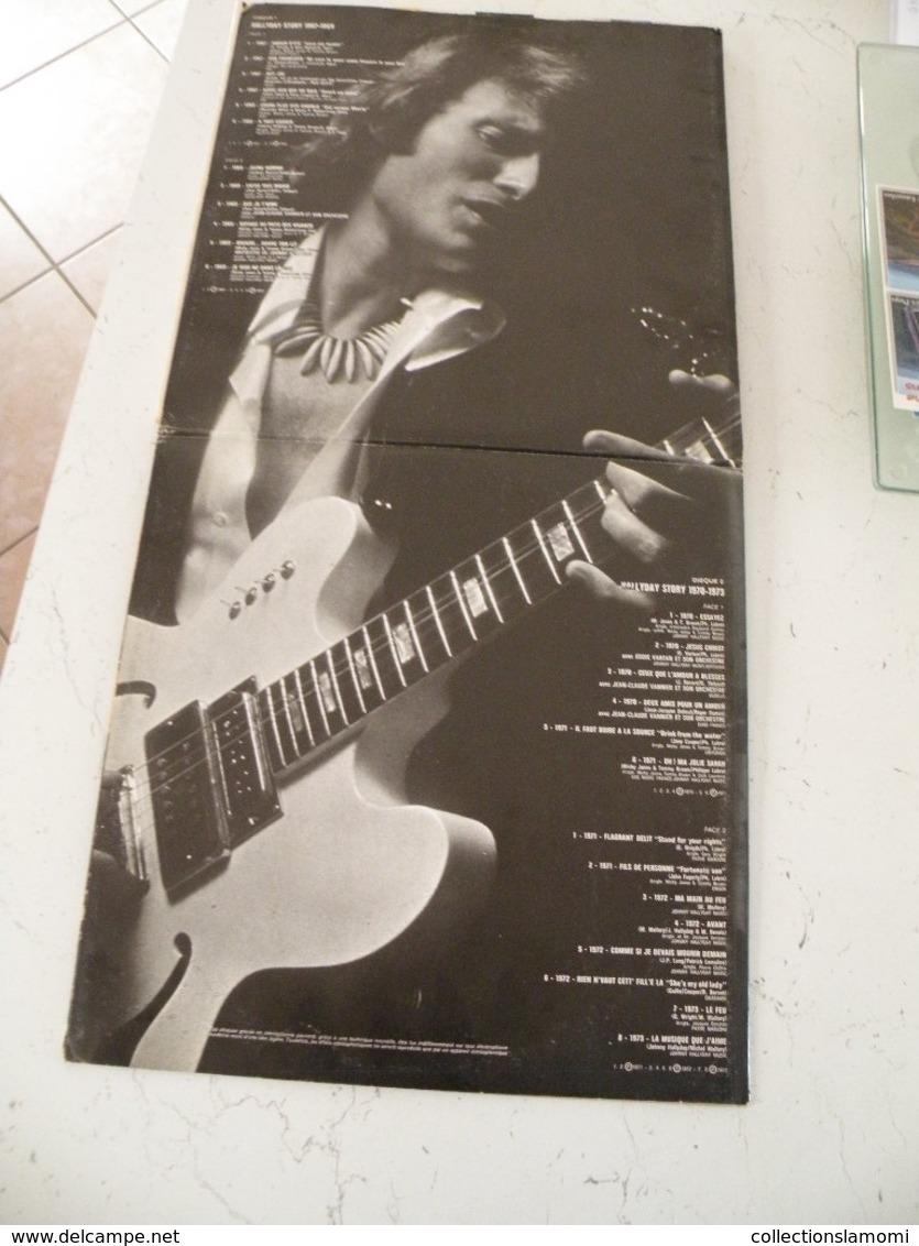 Johnny Hallyday - Chansons De 1967 à 1975 (Titres Sur Photos) - Vinyle 33 T - LP Double Album - Vinyl Records