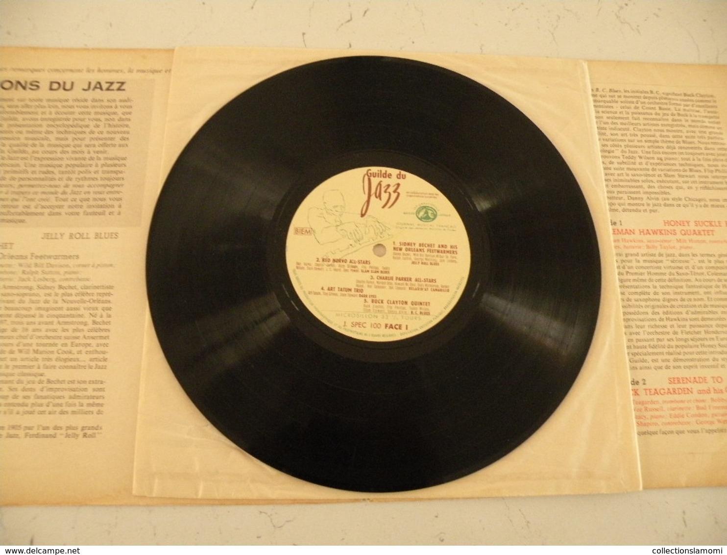 Horizons Du Jazz Avec Les Grands Nom Du Jazz Américains Des Années 50/60 (Titres Sur Photos) - Vinyle 33 T LP - Jazz