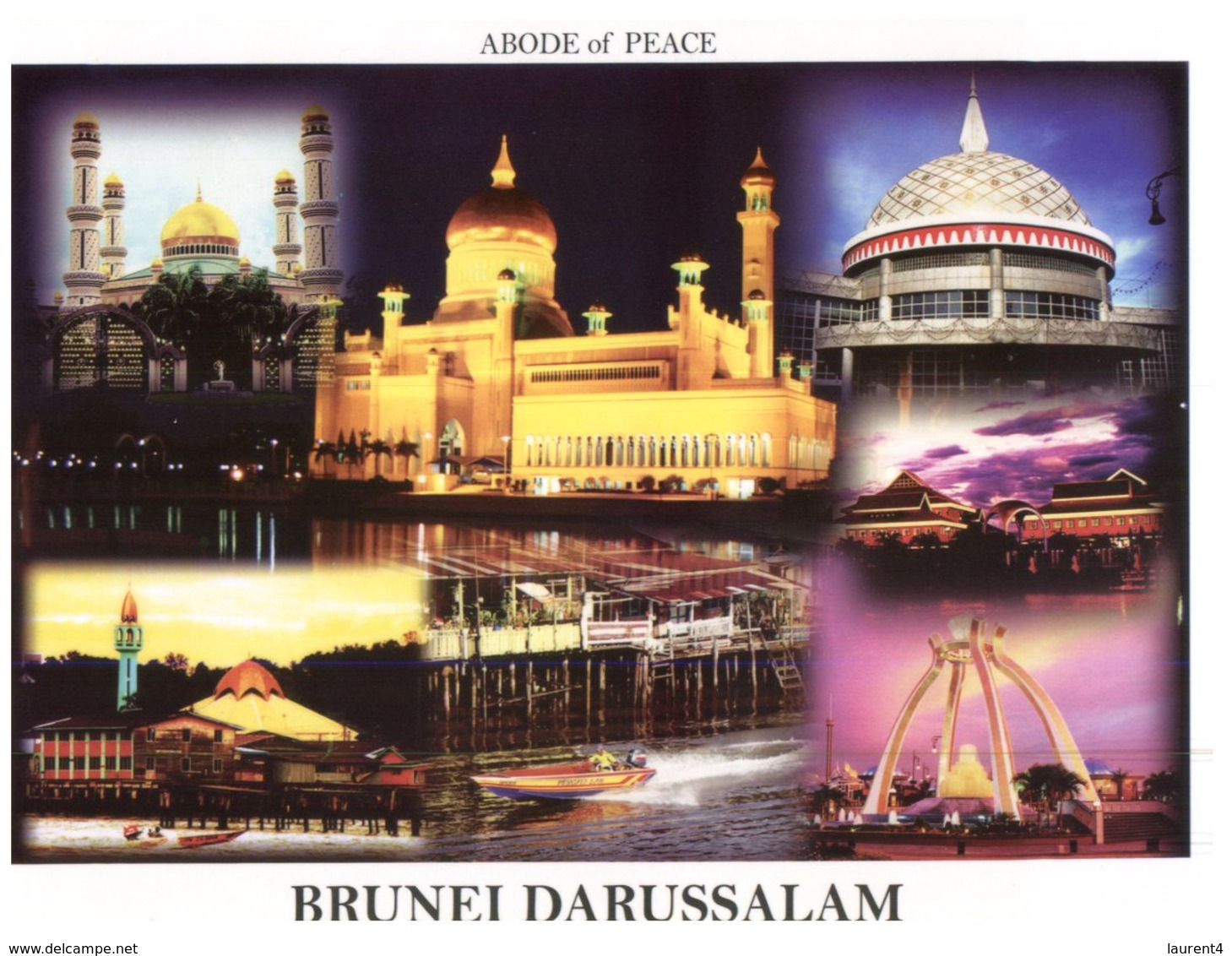 (777) Brunei Darrusalam - 7 Views - Brunei
