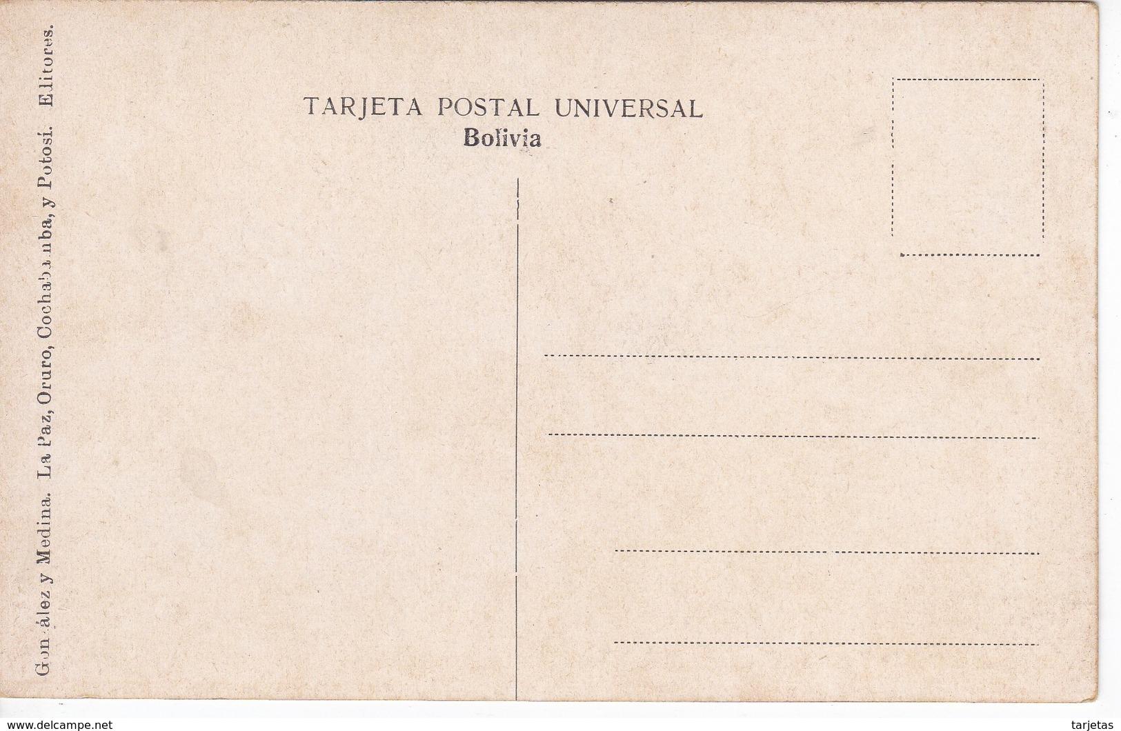POSTAL DE UNAS INDIAS DE SANTA CRUZ (BOLIVIA) (GONZALEZ Y MEDINA) - Bolivia