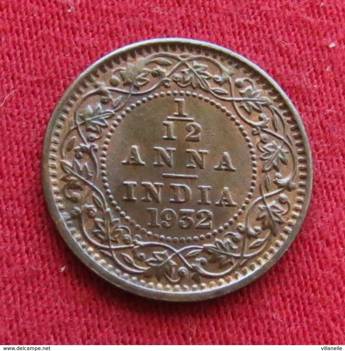 British India 1/12 Anna 1932 (c) KM# 509  Inde Indie Indien - Inde