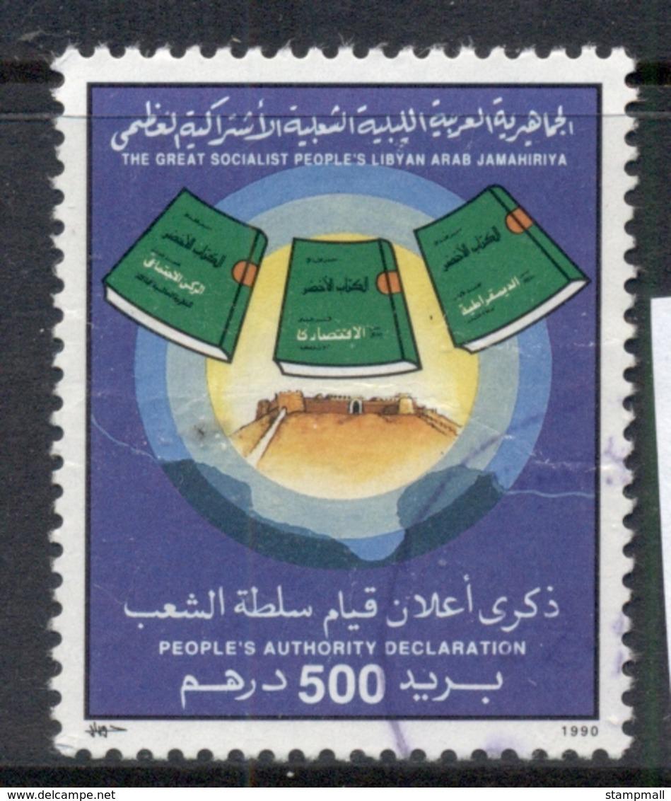 Libya 1990 Peoples Authority Declaration 500d FU - Libië