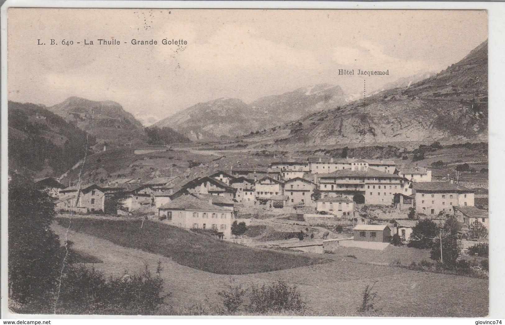 AOSTA - LA THUILE - GRANDE GOLETTE........F6 - Aosta