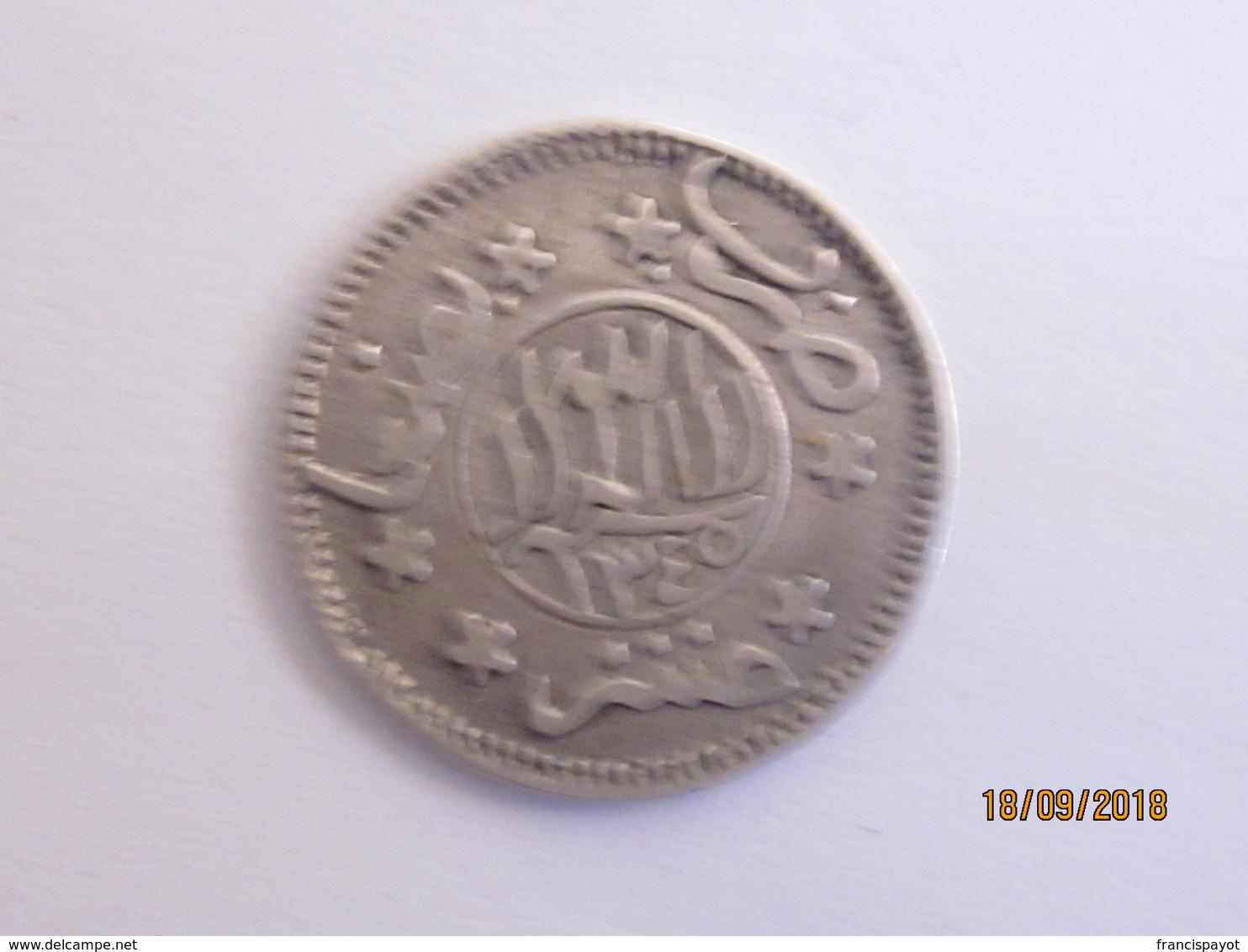 Yemen/ Imamat Mutawakkilite: 1/10 De Riyal 1345 (rare) - Yémen