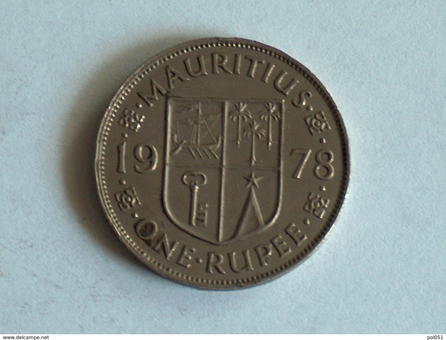 Mauritanie 1 Rupee 1978 - Mauritanie