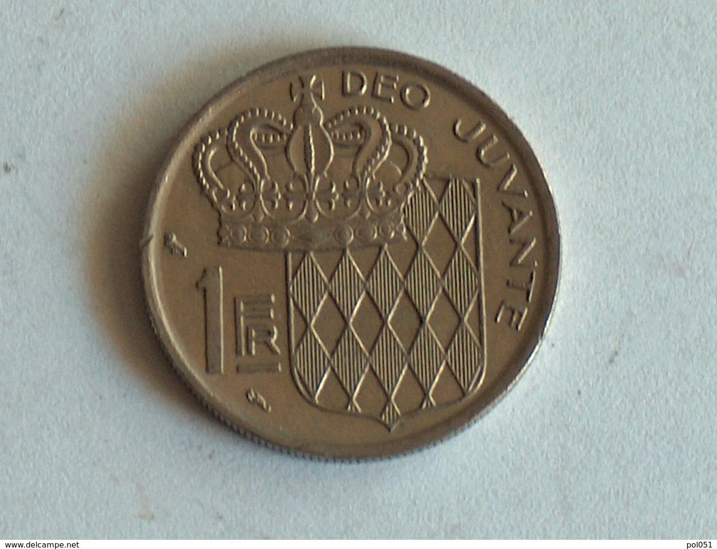 Monaco 1 Franc 1968 - 1960-2001 Nouveaux Francs