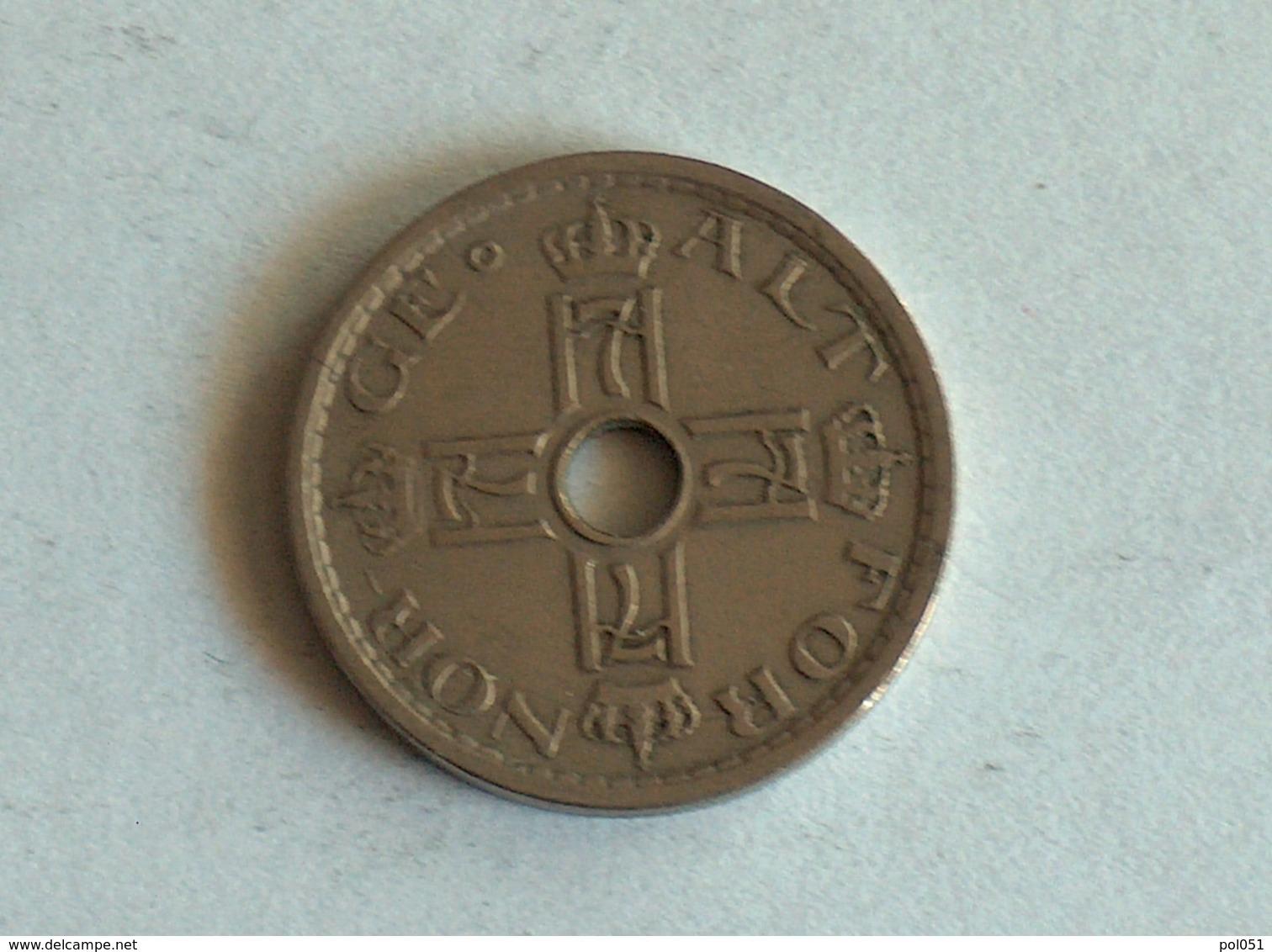 Norvege 50 Ore 1929 - Norvège