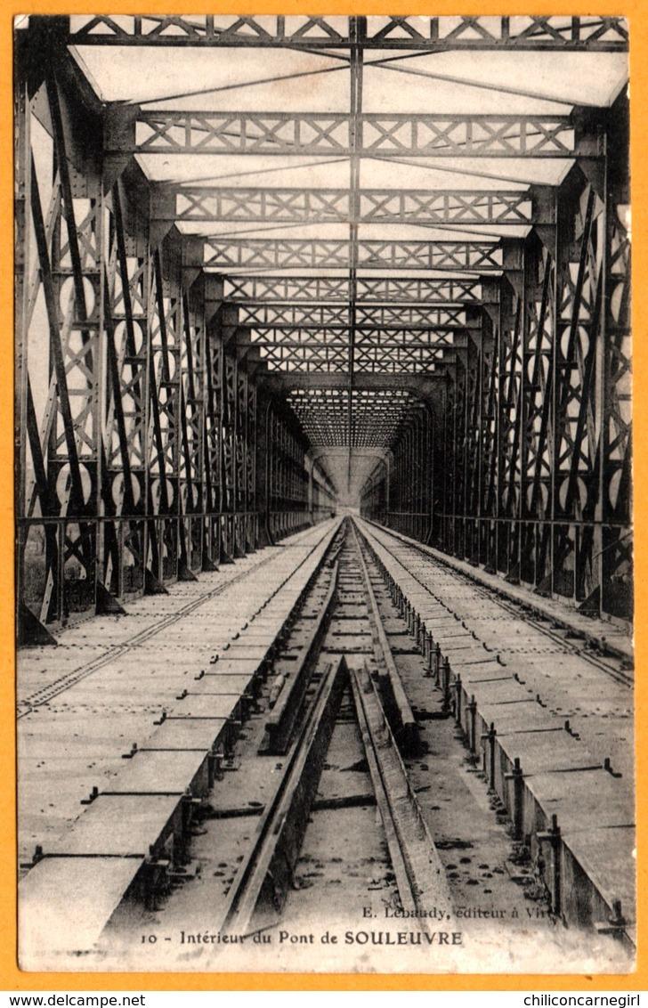 Sainte St Marie Laumont - Bény Bocage - Intérieur Du Pont De Souleuvre - Edit. E. LEBAUDY - 1917 - France