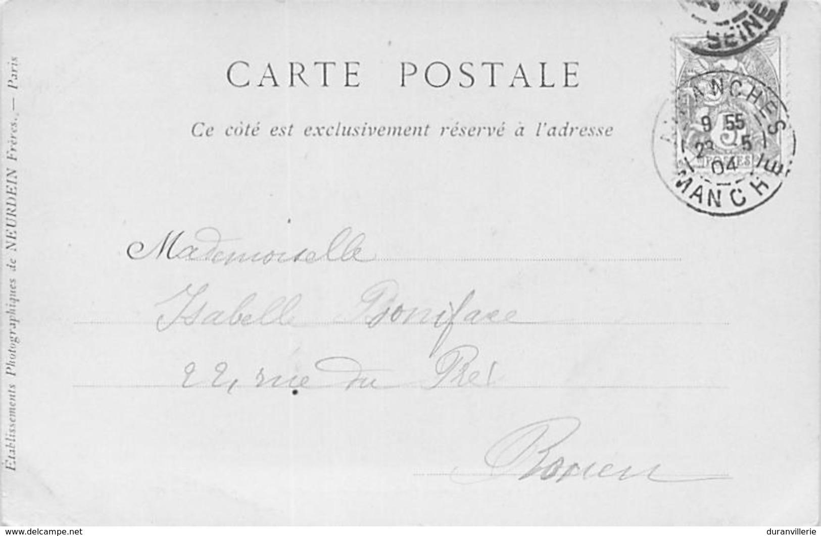 50 - Avranches. Le Couvent Des Ursulines Et Le Cèdre Du Jardin Des Plantes. 1904 - Avranches