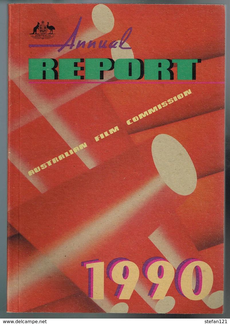 Annual Report Australian Film Commission 1990 - 112 Pages 25 X 17,5 Cm - Livres, BD, Revues