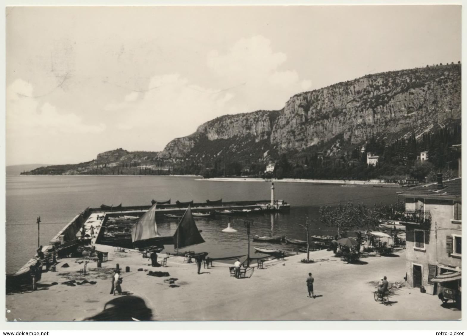AK  Lago Di Garda Garda Il Porto 1958 - Non Classificati