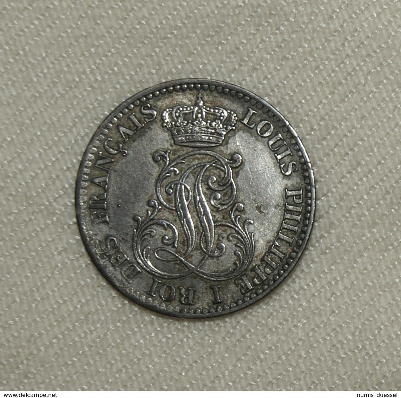 Silber Frankreich Guyana/France Guiana Louis Philippe, 1846 A, 10 Centimes Vz-unz/xf-unc - Colonies