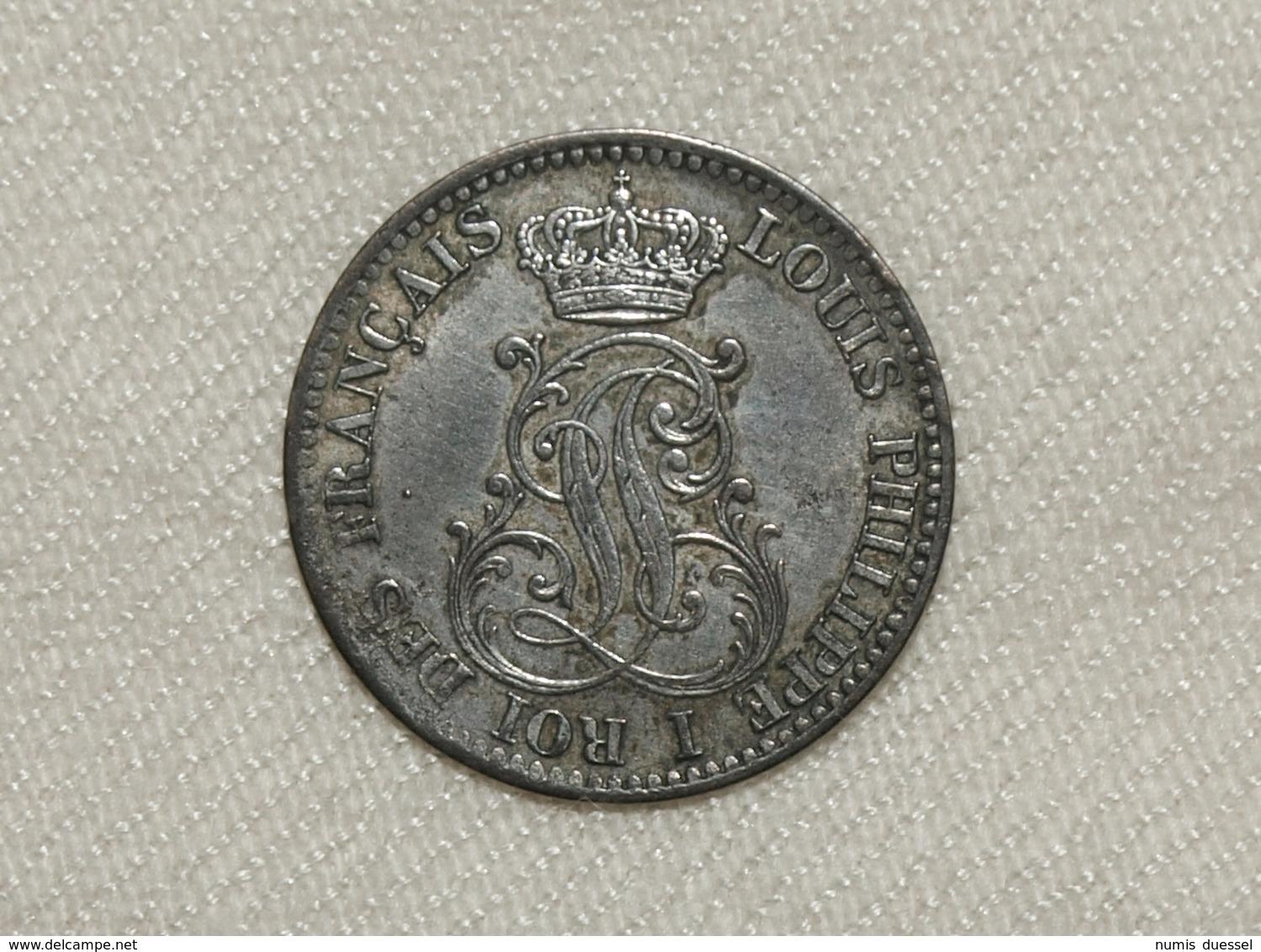Silber Frankreich Guyana/France Guiana Louis Philippe, 1846 A, 10 Centimes Vz-unz/xf-unc - Kolonien
