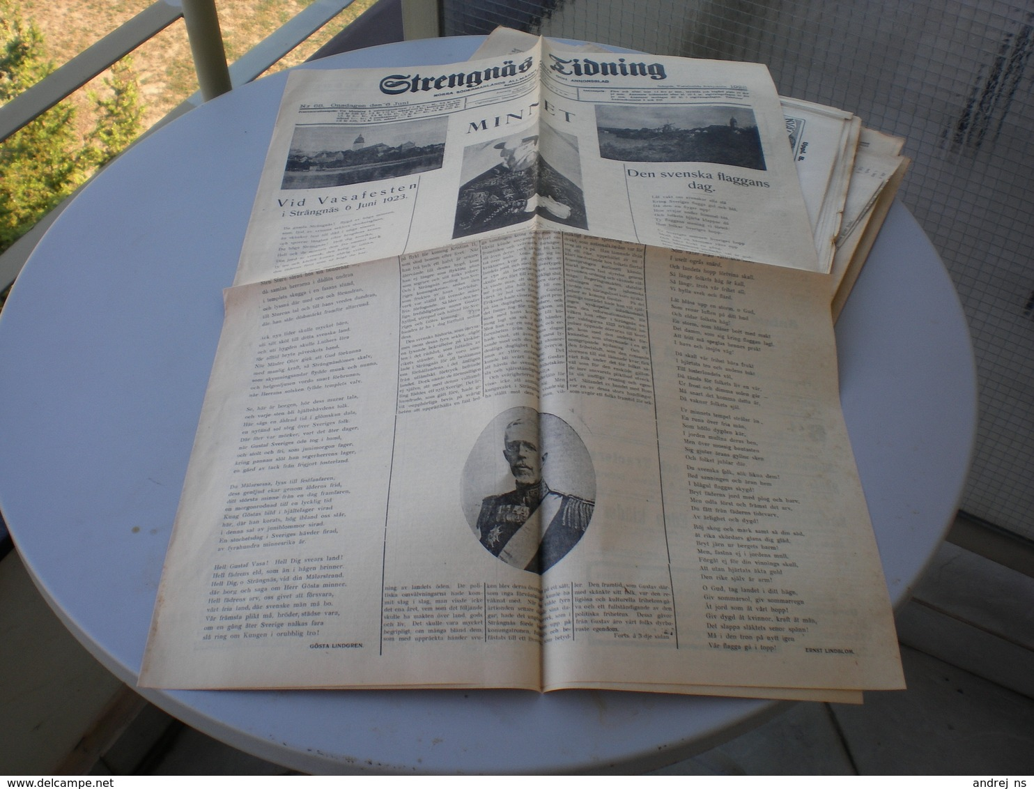 Strengnas Tidning 1923 - Scandinavian Languages