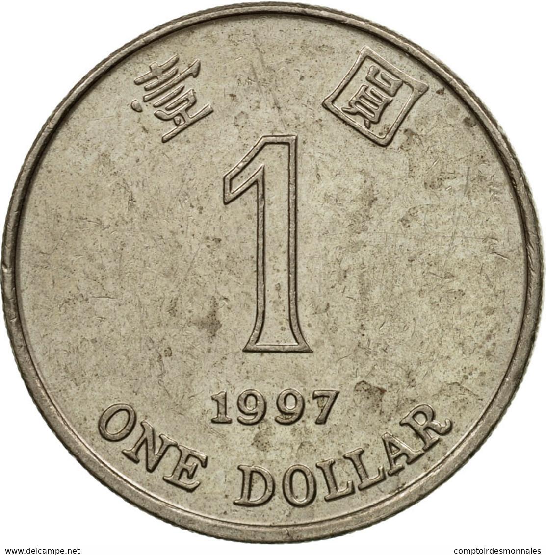 Monnaie, Hong Kong, Elizabeth II, Dollar, 1997, TTB, Copper-nickel, KM:69a - Hong Kong
