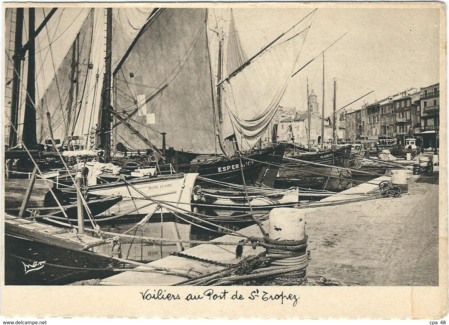 Var, St Tropez : Voilliers Au Port - Sollies Pont