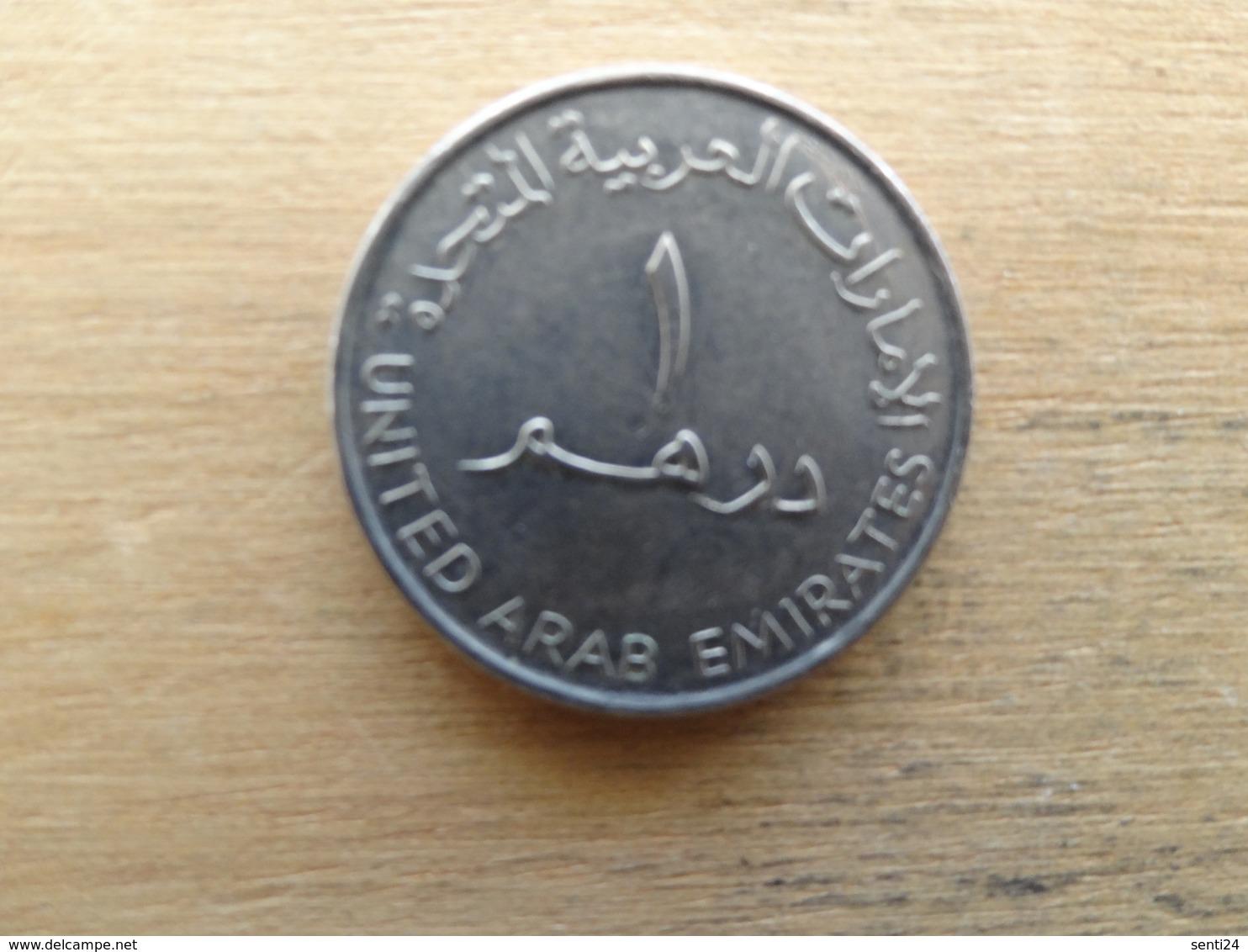 Emirats Arabes Unis  1 Dirham   2007  Km 6.2 - Emirats Arabes Unis