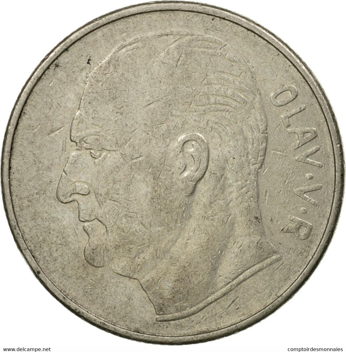 Monnaie, Norvège, Olav V, Krone, 1971, TTB, Copper-nickel, KM:409 - Norvège
