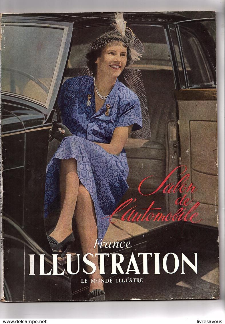 Automobile France Illustration Salon De L'automobile 1949 N° D'octobre 1949 - Books, Magazines, Comics