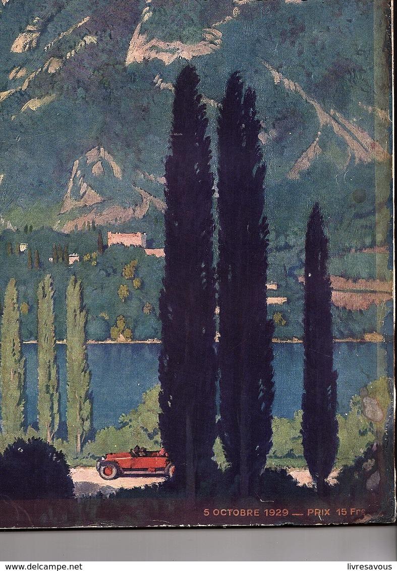 Automobile L'illustration L'automobile Et Le Tourisme Salon De L'automobile 1929 Du 5 Octobre 1929 - 1900 - 1949