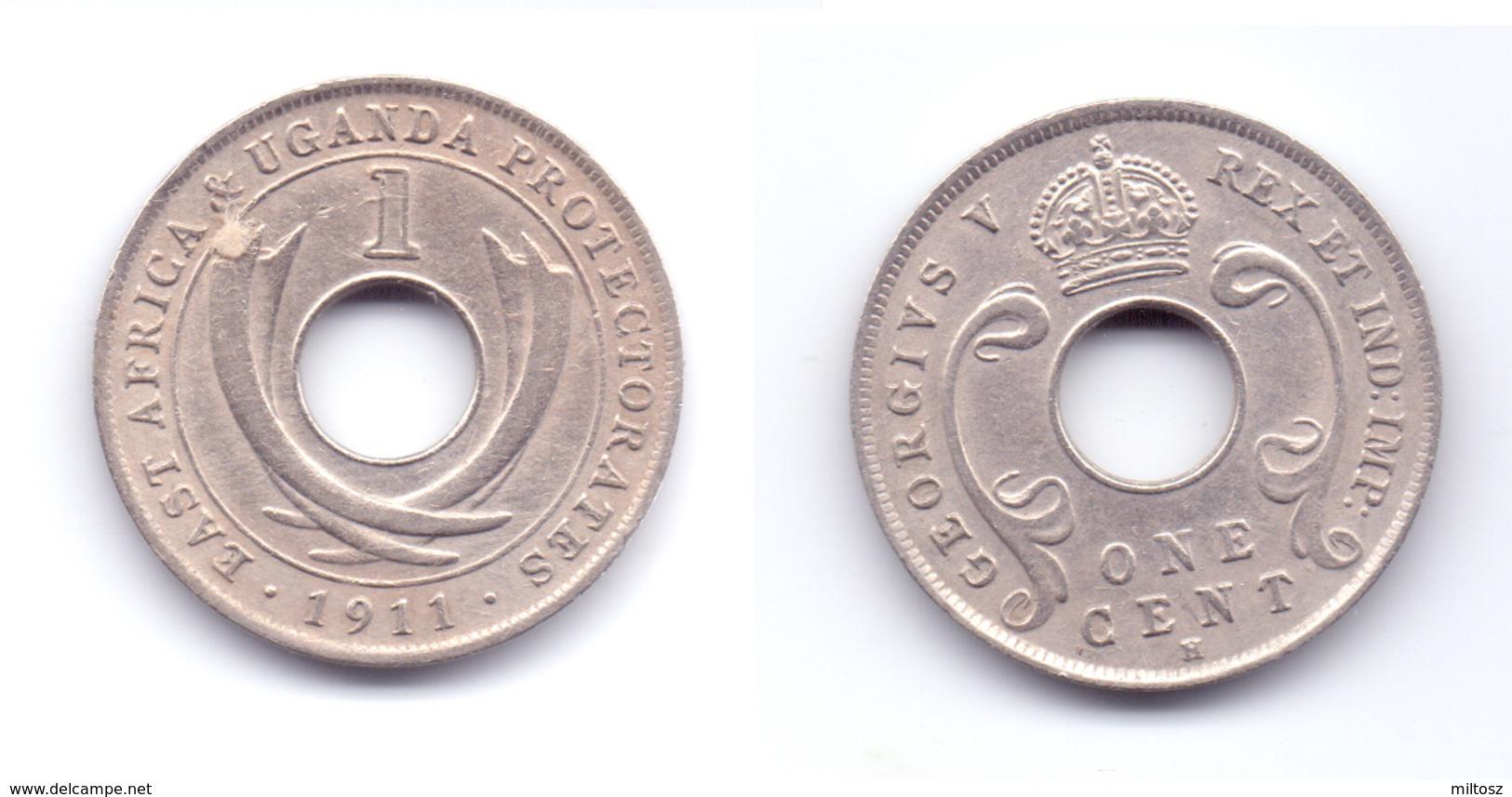 East Africa & Uganda Protectorates 1 Cent 1911 H - Afrique Orientale & Protectorat D'Ouganda