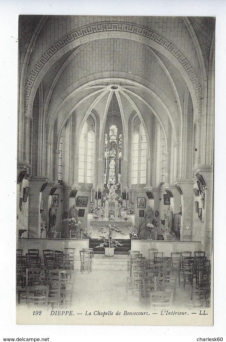 CPA Dieppe La Chapelle De Bonsecours L'Intérieur 192 - Dieppe